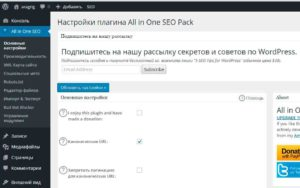 all in one seo pack для wordpress